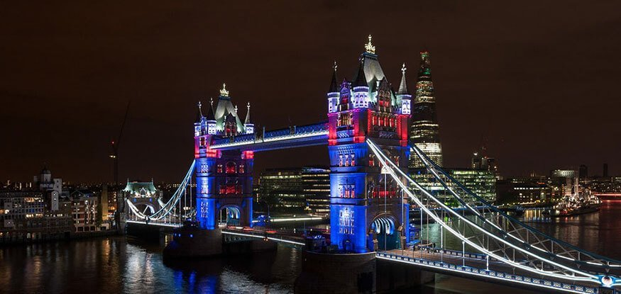 Lighting makeover for London bridges